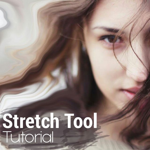 how to edit photos with PicsArt stretch tool