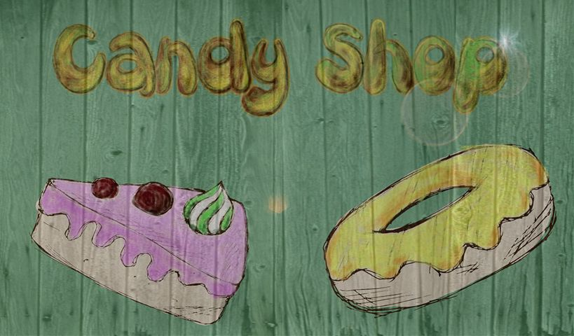 Candy Shop Poster Design Contest Winners