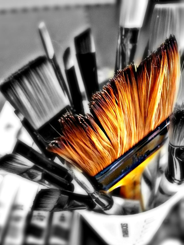 brush photos