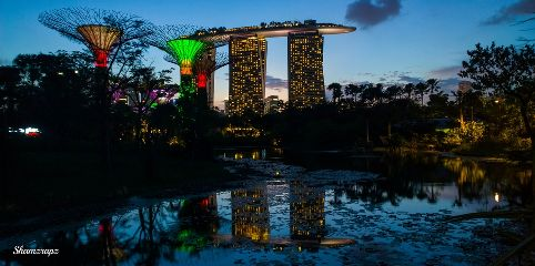 photography singapore architecture travel sunset