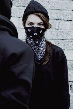 gangsta bandana girl