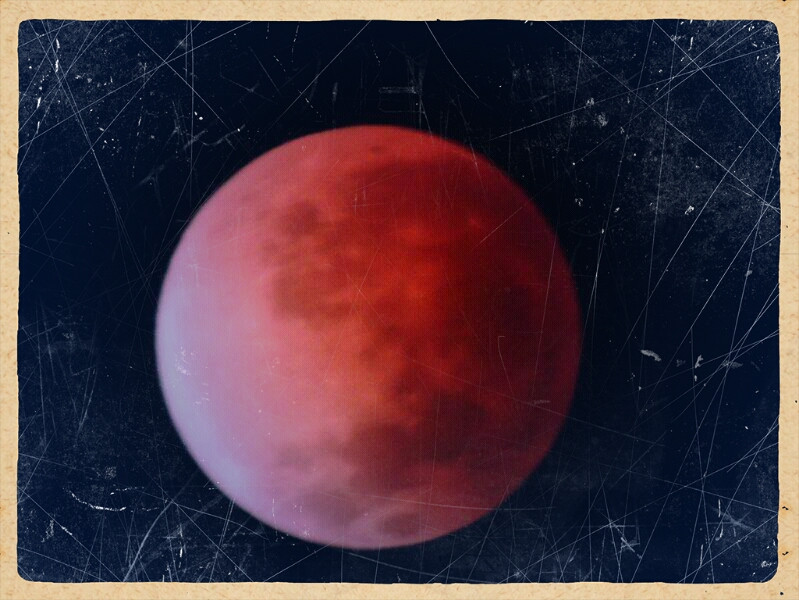 blood moon !