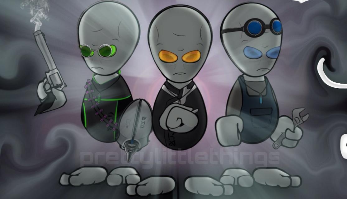 3little aliens