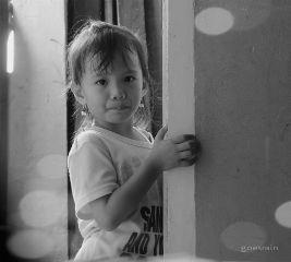 baby black & white