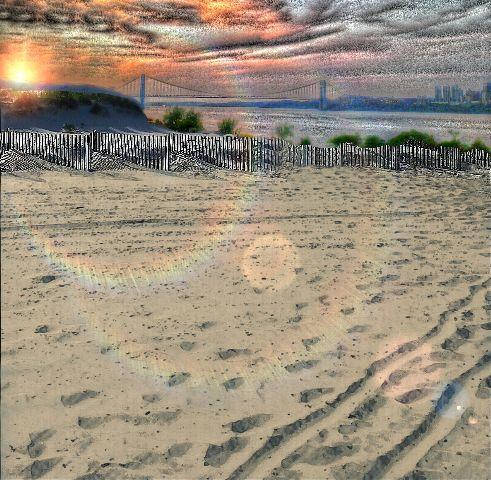 nature beach sunset emotions missingdad