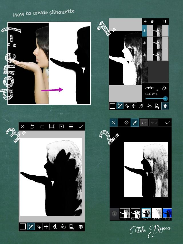 edit step by step
