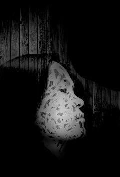 blackandwhite shapemask freetoedit faceoff