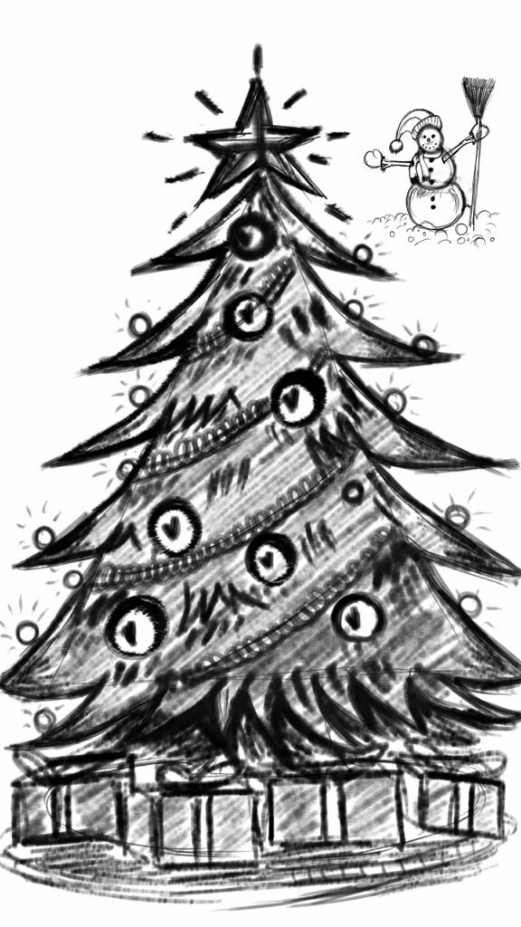 Christmas tree drawing contest winners