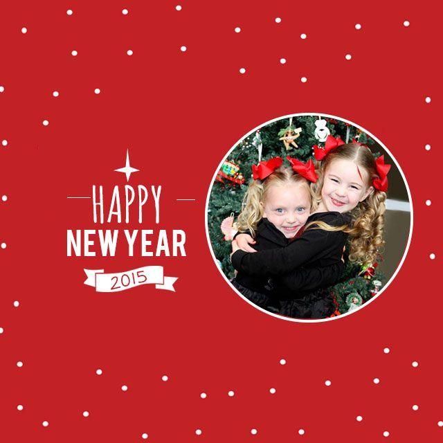 Happy New Year 2015 frames