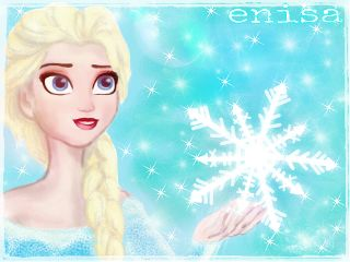 dcsnowflake drawing digital frozen cute