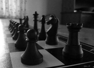 photography blackandwhite chess black macro